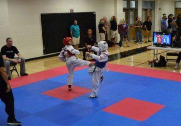 Karate South Side Kick Tournament