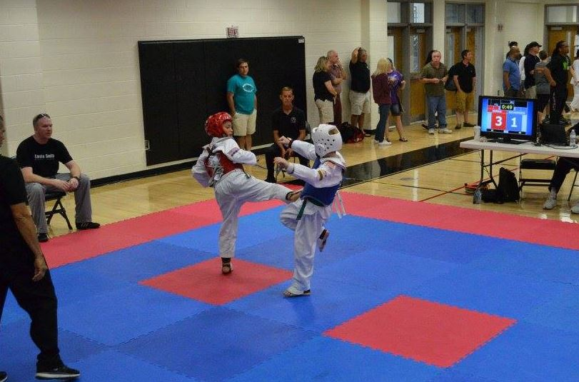 Karate south 39 s team post big wins 26th annual roman for Classic house kick